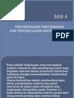 BAB-4 Pengelolaan Dan Pengendalian Limbah (General)