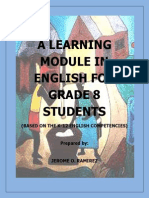 Ramirez Jerome a Module in English for Grade 8 Students