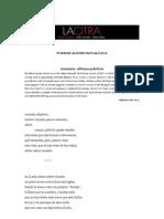 Poemas Alonso Ruvalcava