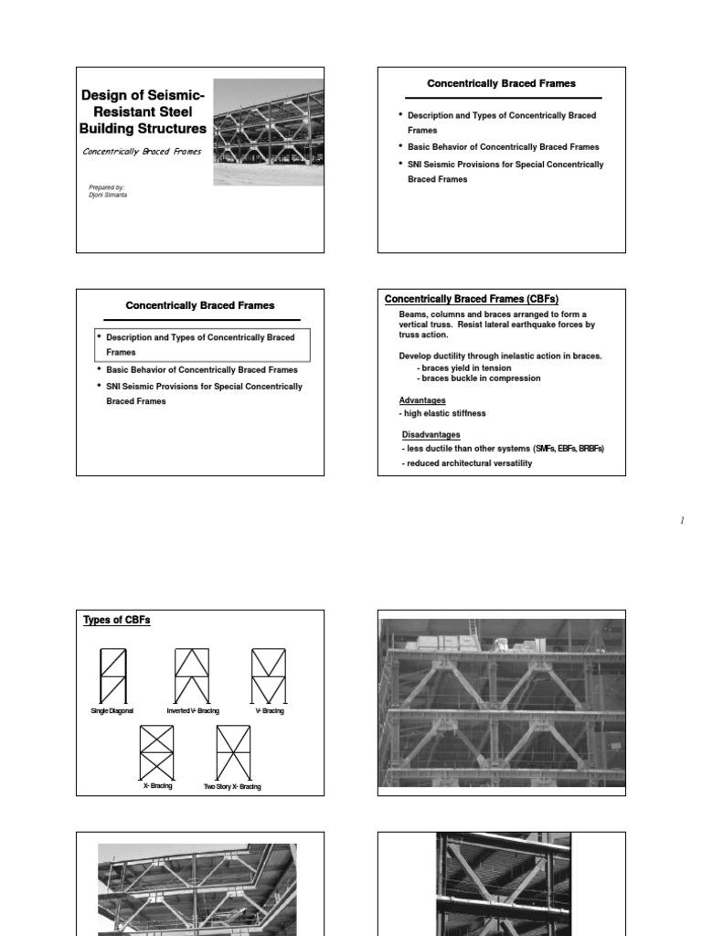 Design of Seismic Resistant Steel Building Structures ...