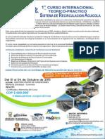 Curso Internacional de Sistemas de Recirculacion en Acuicultura