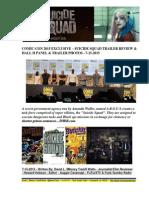 Comic-Con 2015 - Suicide Squad Trailer Review - Hall H & Trailer Photos - FuTurXTV & Funk Gumbo Radio - 7-15-205
