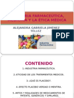 Industria Farmaceãštica, Medicina y La ã‰Tica Mã‰Dica
