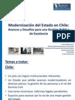 Williamson c Ppt Clad Modernizacion Del Estado en Chile - Clad Montevideo Octubre 2013