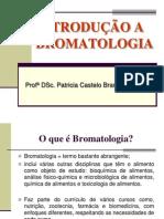 Aula 1 - Introdução À Bromatologia