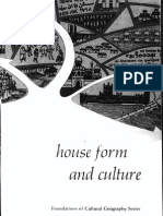 House, Form and Culture