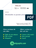 Diverticulitis en Paciente Joven