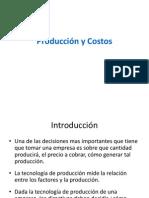 Produccion y Costos