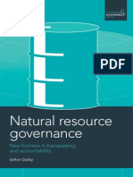 Natural Resource Governance
