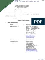 MDG INTERNATIONAL, INC. v. AUSTRALIAN GOLD, INC. - Document No. 22