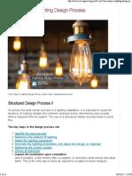 7 Key Steps in Lighting Design Process _ EEP