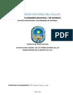 Satisfaccion Laboral de  Trabajadores de la región Callao