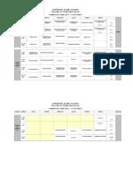 Horarios y Salones 2015-2 - Jornada Nocturna
