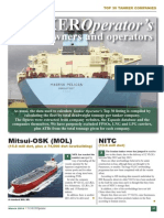 Tanker Operator Stop 30 Owners and Operators