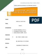Buses Word - INGENIERÍA DE TRANSPORTES