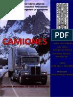 Camiones Word - INGENIERÍA DE TRANSPORTES