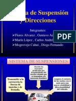 Suspencion y Direccion - INGENIERÍA DE TRANSPORTES