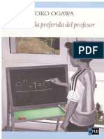La Formula Preferida Del Profesor- Toko Ogawa