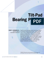 Tilting Pad Bearing Preload