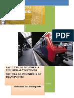 Trabajo de Operaciones de Los Sistemas -  de Transporte - INGENIERIA DE TRANSPORTES