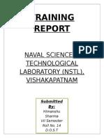 Nstl Report