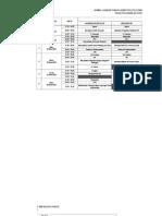 Jadwal Uts Genap 2014-2015