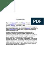 Caida Libre - INGENIERÍA DE TRANSPORTES