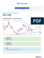 Forex Daily Outlook 05 Aug 2015 Bluemaxcapital