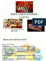 education system in latvia