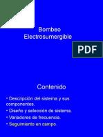 Bombeo Electro Sumergible