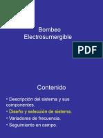 Bombeo Electrosumergible - Diseño