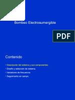 Bombeo Electrosumergible - Sistema Comprimido