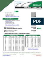 CALC Altitude Correction SUL-13-210