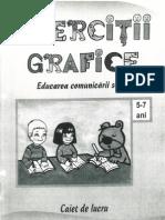 Exercitii Grafice (5-7 Ani)