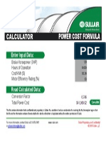 Calc Power Cost Sul-13-213