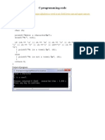 Turbo C Codes