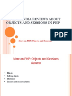 SynapseIndia Reviews About Objects and Sessions in PHP