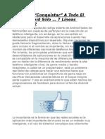 Facebook Conquistar a Todo El Clan Android Solo 7 Lineas de Codigo