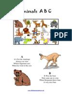 Animals, English for children