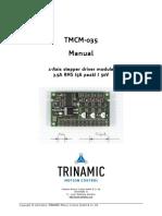 TMCM 035 Manual