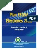 Plan EEGSA Elecciones 2011 Guatemala