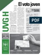 El Voto Joven - Periódico Universidad Del Valle de Guatemala, 2011