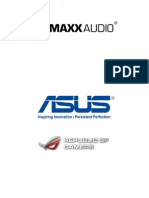 MaxxAudio for ROG Series User Guide