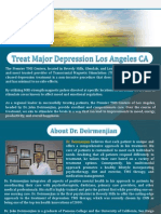 Treat Major Depression Los Angeles CA