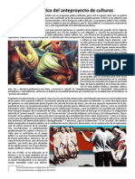 análisis Ley de Culturas Bolivia