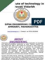 Best institute of technology in Amravati Vidarbha