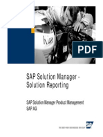 Solution Reporting