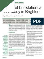 ADHVARYU [2006]_Design of Bus Station_A Case Study in Brighton_{TEC}
