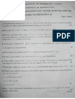 Sem Maths Paper