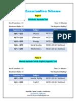 ntse examination scheme